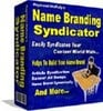 Thumbnail Name Branding Syndicator with master resell rights
