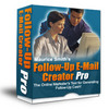 New Follow Up Email Creator Pro with Master Resell Rights