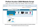 Thumbnail Perfect Auction Website Script 2011 - Full Featured