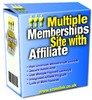 Thumbnail Multiple Memberships Site w Affiliate - Master Resale Rights