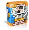 Thumbnail NEW Buy Me A Word Script With Master Resale Rights