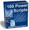 Thumbnail 100 Power Scripts- Master Resell Rights - Contains A Whopping 114 Scripts