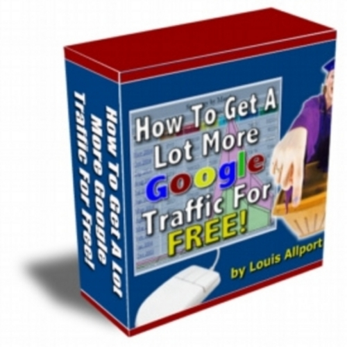 Product picture How To Get Alot More Google Traffic For Free - With Resale Rights