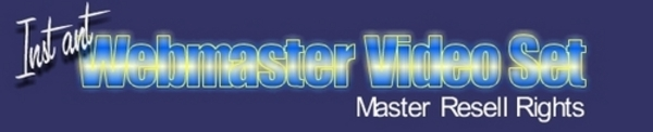 Product picture Instant Web Master Video Set - With Master Resell Rights
