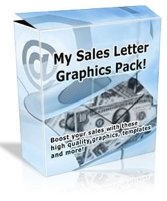 Product picture My Sales Letter Graphics Pack MRR