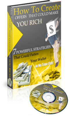 Product picture NEW How To Create Offers That Could Make You Rich