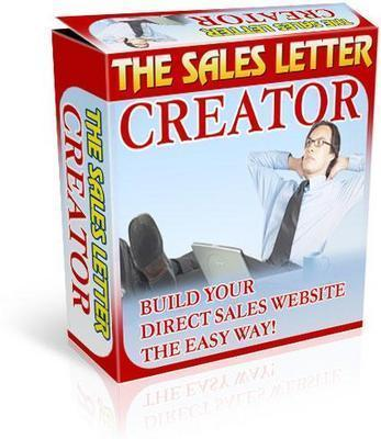 Product picture New Sales Letter Creator with MRR