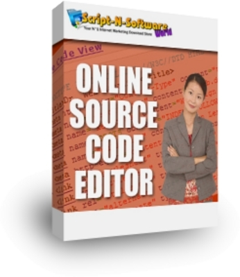 Product picture Online Source Code Editor