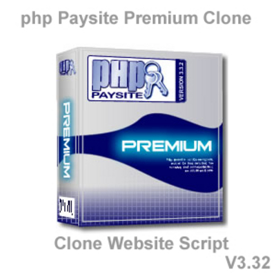 Product picture PHP Paysite Premium V3-32 Clone Website Script