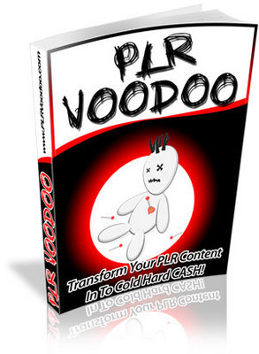 Product picture PLR VOODOO - Private Label Rights Voodoo