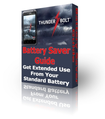 Product picture Battery Saver Guide For The HTC ThunderBolt