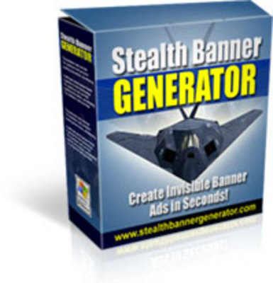 Product picture Stealth Banner Generator with mrr