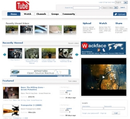 Product picture YouTube Clone - Video Sharing Website PHP Script
