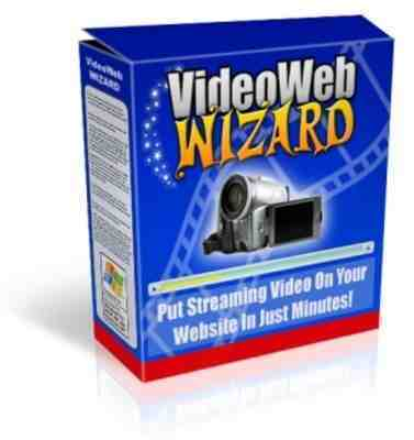 Product picture Video Web Wizard With Master Resale Rights