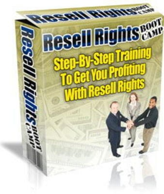 Product picture New Resell Rights Boot Camp with Master Resell Rights