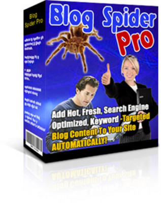Product picture Blog Spider Pro with Mrr